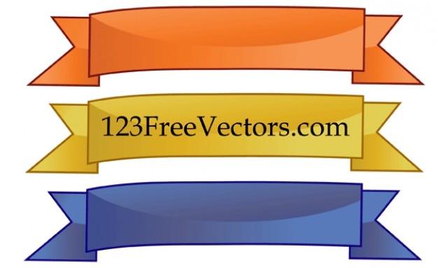 download vector plain 3 color vector banners vectorpicker