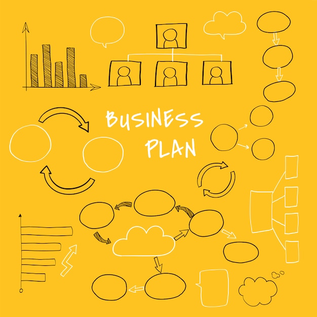 Planning a new business Free Vector
