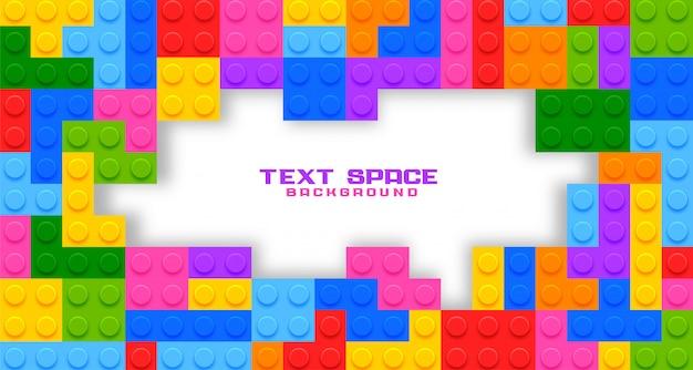 Copyspaceのプラスチック製のゲームのおもちゃ 無料ベクター