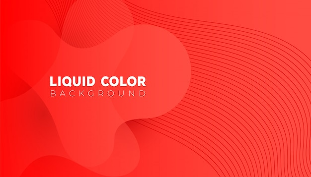 Plastic liquid gradient waves sale banner template. design vector for design for mobile Premium Vector