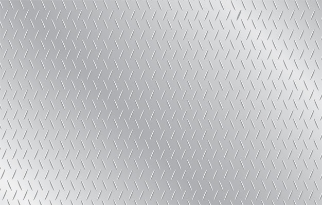 Plate metal background Premium Vector