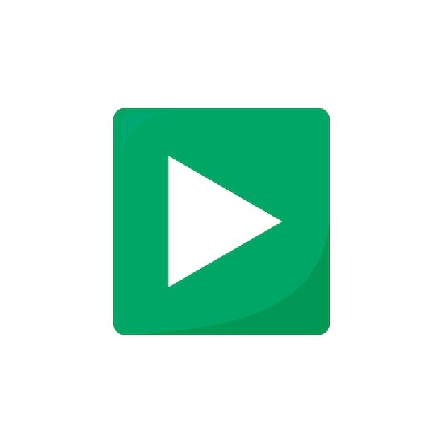 Play button Free Vector