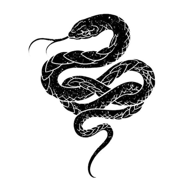 Poison rope Premium Vector