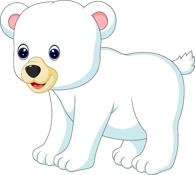Polar bear Premium Vector