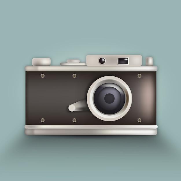 Polaroid camera icon vector free download Free eps editor