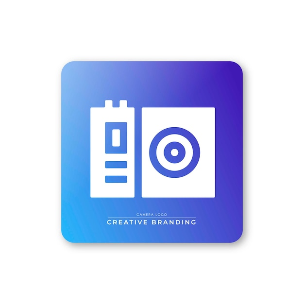 Polaroid icon Free Vector