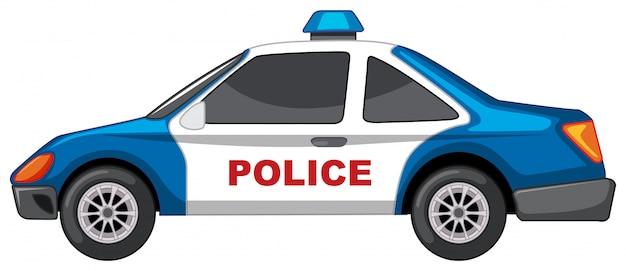 Auto della polizia Vettore gratuito