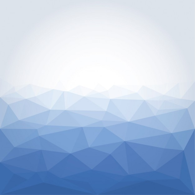 Poligonal blue abstract background Vector | Free Download