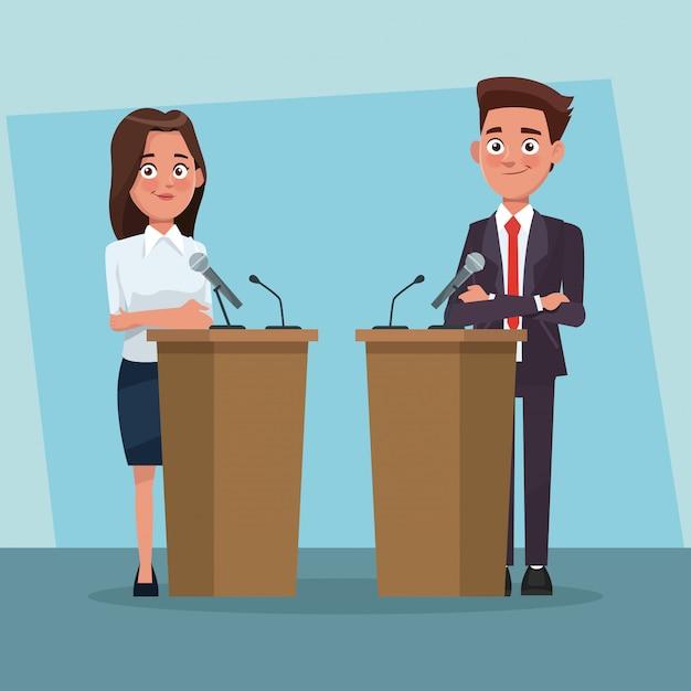 debating Debating period.