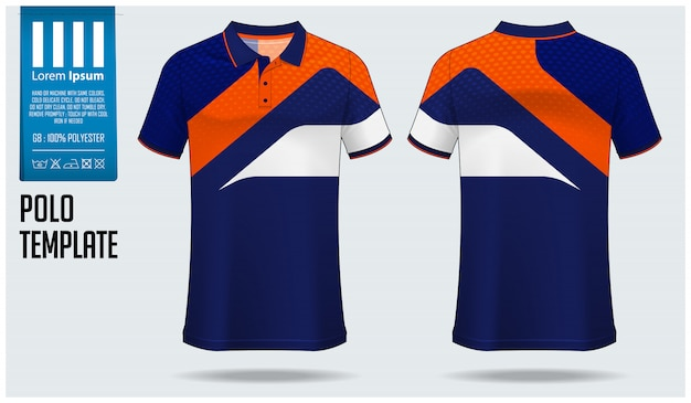 Polo shirt. Premium Vector