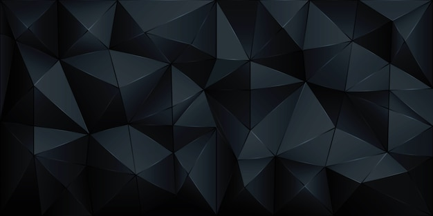 Polygon abstract polygonal geometric triangle background Premium Vector