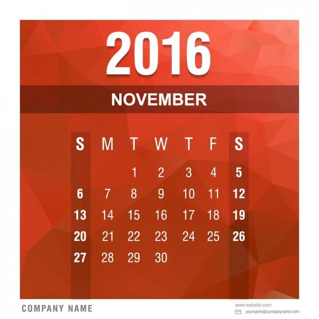 Calendar 2016 Psd | Calendar Template 2016