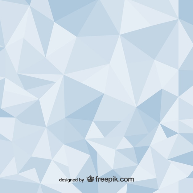 polygonal abstract background design vector