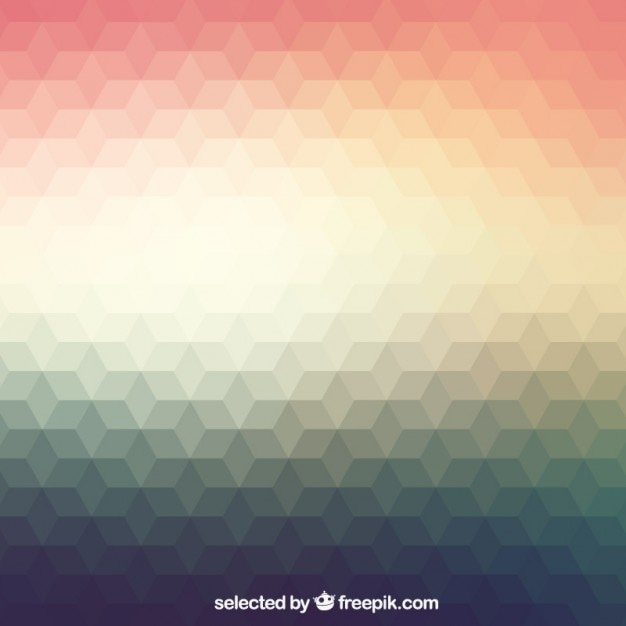 Polygonal background in gradient style