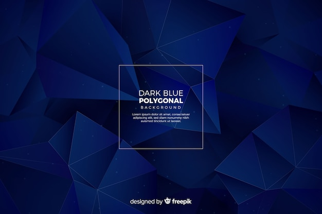 Polygonal background Free Vector