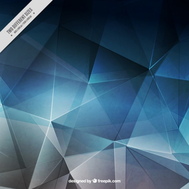 polygonal blue and gray background vector free download