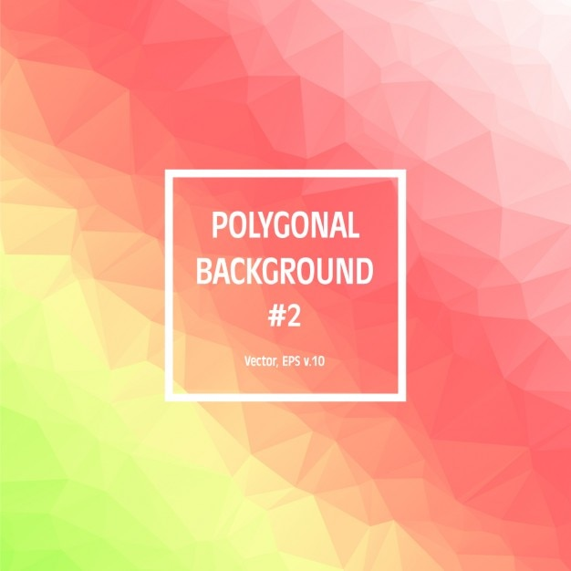Polygonal Gradient Colors Background