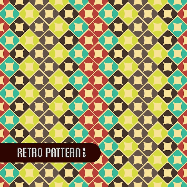 Polygonal pattern Free Vector