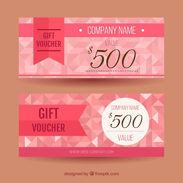 Pink discount coupons