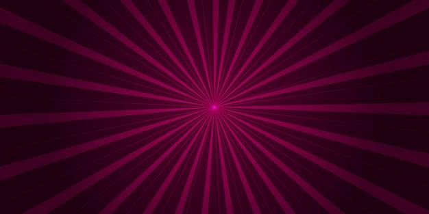 ポップアートとコミックの紫ピンクのグラデーションの背景 Premiumベクター