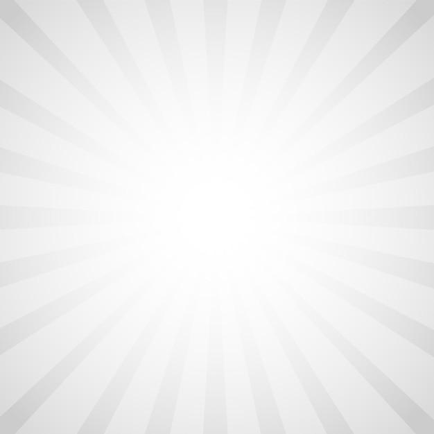 ポップアートスタイル、レトロな光線コミックグレーの背景 Premiumベクター