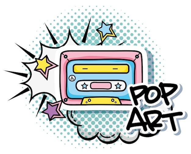 Vintage Pop Art Graphic Design