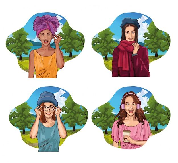 pop art bedroom decor online information.htm pop art young women cartoon free vector  pop art young women cartoon free vector