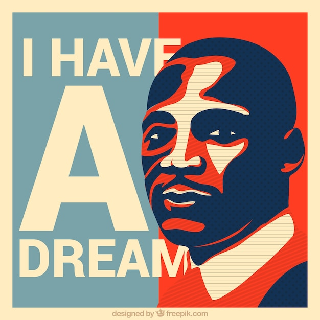 Portrait Martin Luther King Vector Free Download