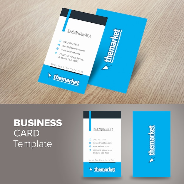 Portrait professional business card vector premium download portrait professional business card premium vector colourmoves