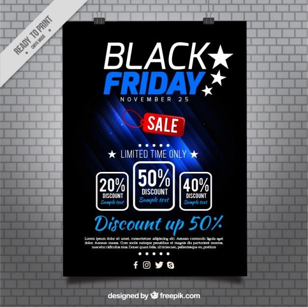 Poster of modern black friday deals
