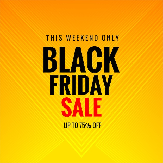 Poster sale of black friday card background Free Vector
