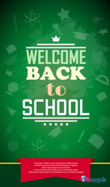 back to school vector - photo #48