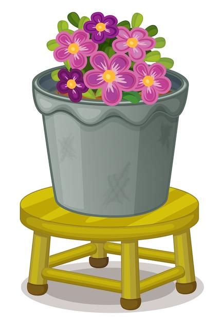 Pot plant Free Vector