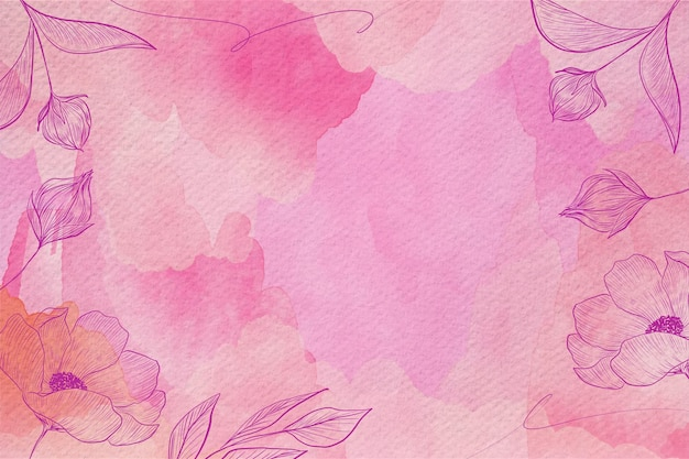 Powder pastel background design Premium Vector
