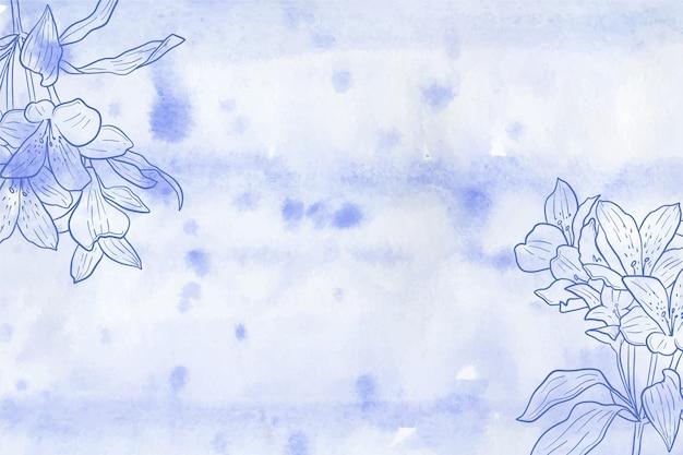 Powder pastel wallpaper concept Free Vector