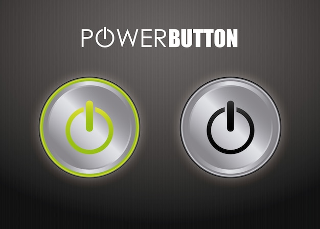 Power design. illuistration Premium Vector