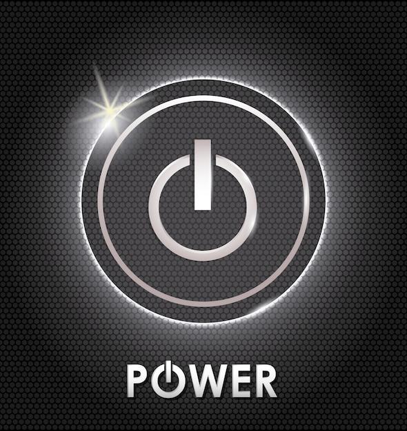 Power design. illuistration Premium Vector