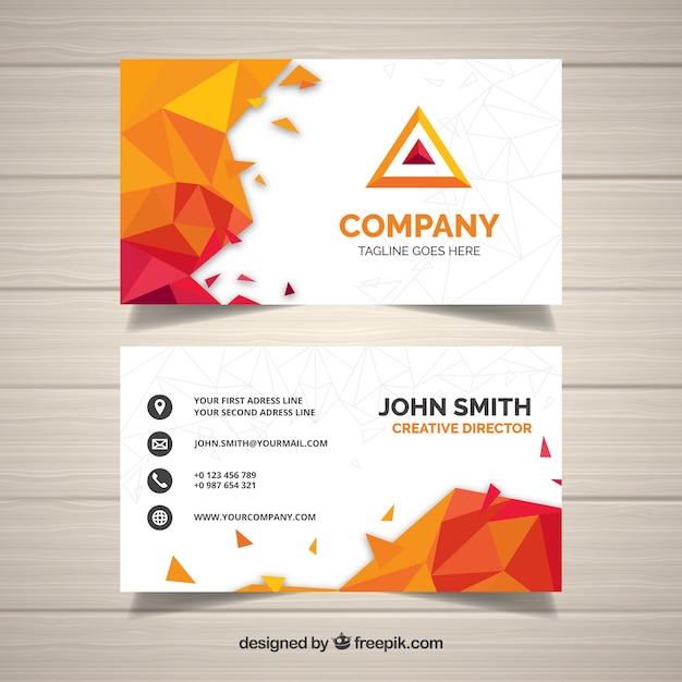 Powerful business card vector free download powerful business card free vector colourmoves Choice Image
