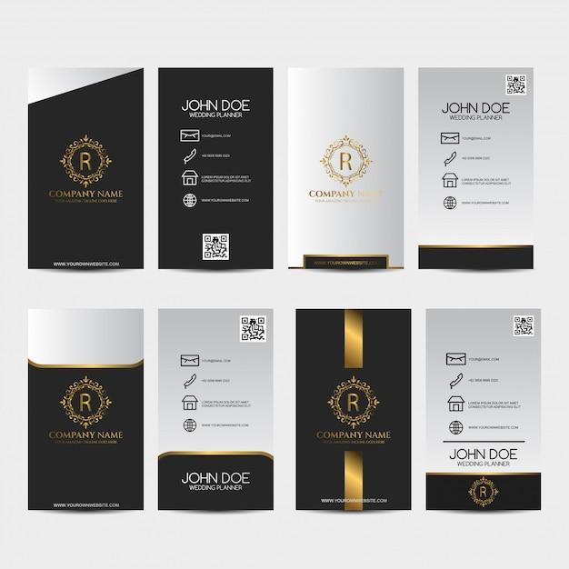 Premium business card Premium Vector