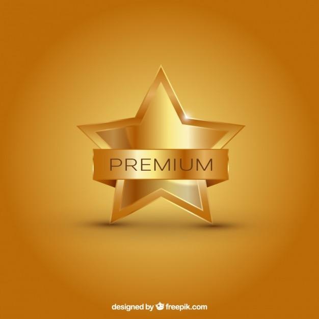 Premium star Free Vector