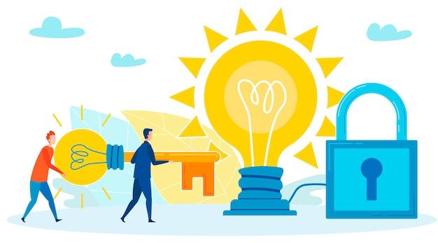 Preparing for big decision in life illustration Premium Vector