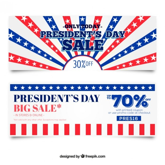 President S Day Sale: Presidents Day Sale Banners Vector