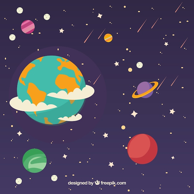 download vector smiling earth background for world environment day