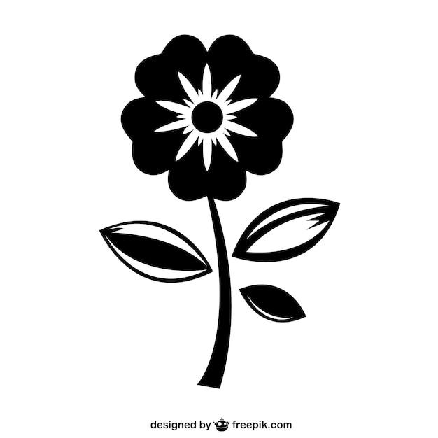 Pretty flower icon