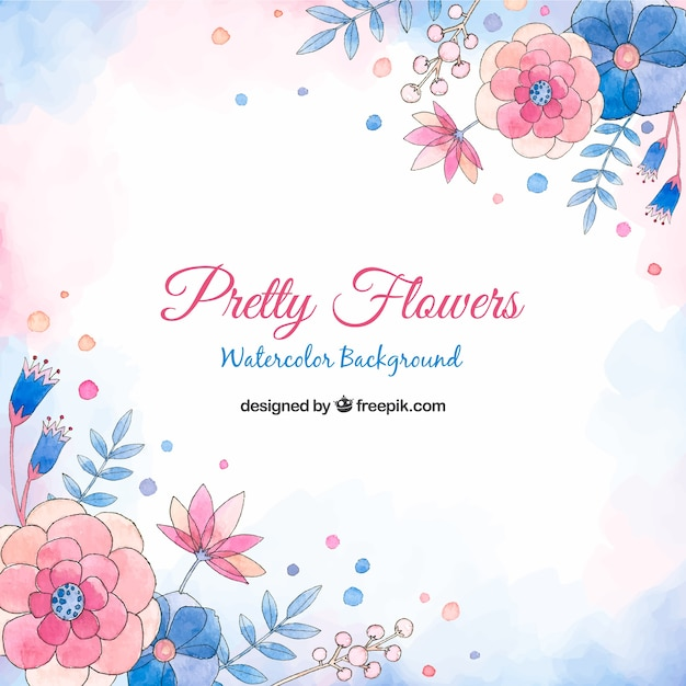Pretty flowers background in watercolor style stock images page pretty flowers background in watercolor style stock images page everypixel mightylinksfo
