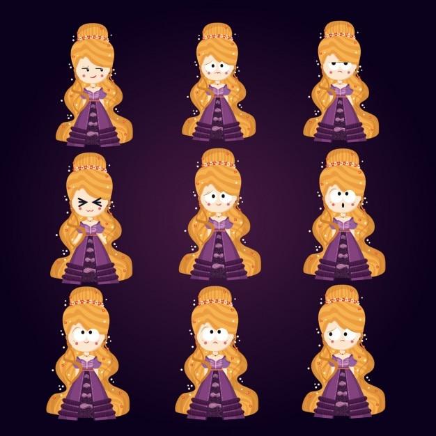 Princess avatars collection