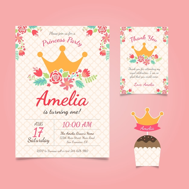 birthday party invitation vector Cogimbous