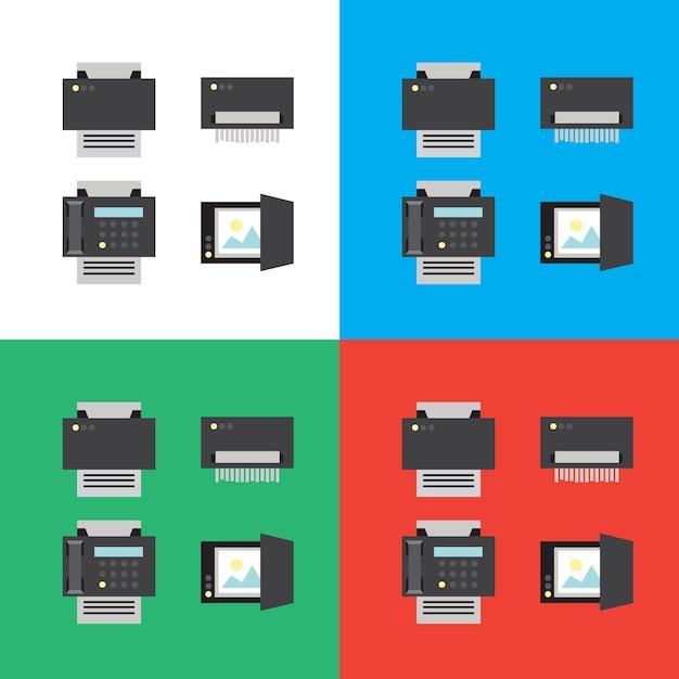 Print Premium Vector