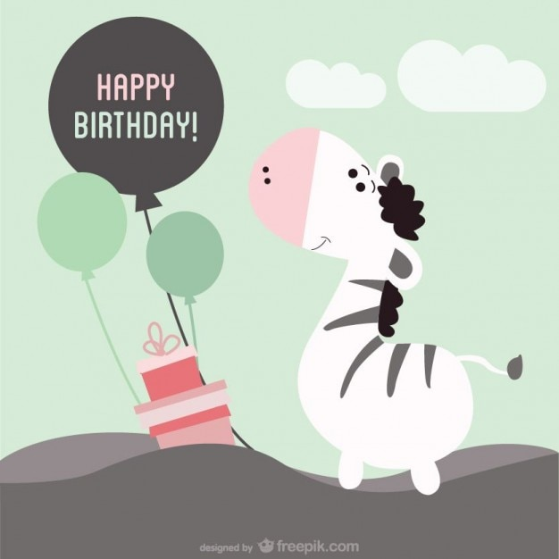Printable birthday card Vector – Printable Birthday Card