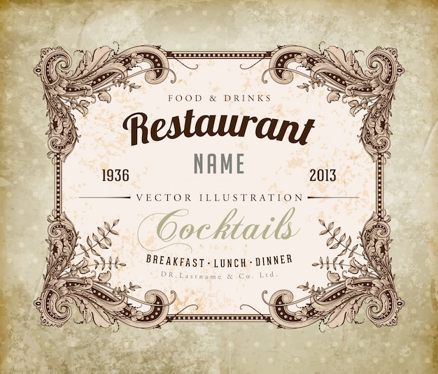 prints salads bar brochure texture Premium Vector